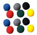 SONY 12x wind screen for ECM-77, 2x red, 2x yellow, 2x blue, 2x green,