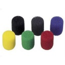 SONY 12x wind screen for ECM-88, 2x red, 2x yellow, 2x blue, 2x green,