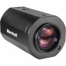 MARSHSALL Compact Broadcast Camera with 4.7-47mm 10x Zoom Lens 3G/HD