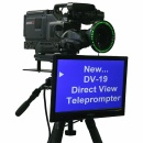 MIRROR IMAGE DIRECT VIEW TELEPROMPTER