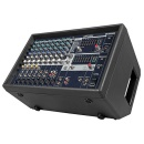 YAMAHA Powered mixer. 2x500W. As above + compressor on 4 channels.