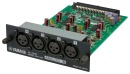 YAMAHA 4-channel line-level analog input card. 4-balanced XLR connecto
