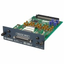 YAMAHA 8-channel 24-bit/96kHz analog line-level input card. 25-pin D-s