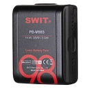 SWIT 2x PB-M98S batteries + 1x PC-U130B2 Dual D-Tap travel charger