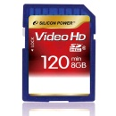 SILICON POWER SDHC 8GB Class 6 FHD video