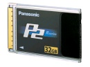PANASONIC P2 MINNESKORT 32GB