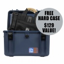PORTABRACE Lightweight and Silent Audio Organizer Case + free hardcase