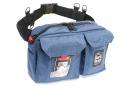 PORTABRACE Durable Cordura pouch worn on nylon belt (1 pouch)