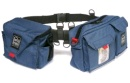 PORTABRACE Durable Cordura pouches worn on nylon belt (3 pouches)