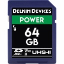 DELKIN 64GB CINEMA SD - SDXC UHS-II, CINEMA SD (U3/V90)