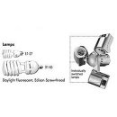 LOWEL 3 lamp accessory head (screw-thread) fluorescent only