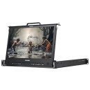 "KONVISION 17"" Pull-out 1RU Rackmount LCD monitor"