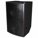YORKVILLE Dual 18 inch Passive Subwoofer, 1200 W