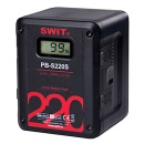 SWIT Multi-sockets Square Battery, D-tap, USB out, LCD-dispaly, 220 Wh